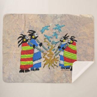 Cobertor Sherpa Fogo dos Shamans