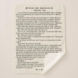 Cobertor Sherpa Orgulho de Jane Austen e citações da literatura do