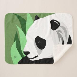 Cobertor Sherpa Presentes do amante da panda gigante
