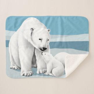 Cobertor Sherpa Urso polar e Cubs