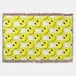 Cobertor Smiley face