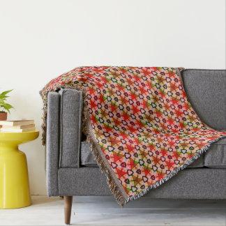 Cobertor Sonho verde cor-de-rosa vermelho
