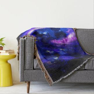 Cobertor Sonhos Amethyst de Bali da safira