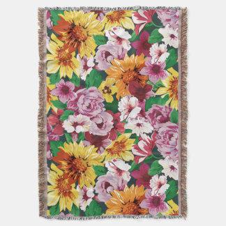 Cobertor Sonhos florais #1 em Susiejayne