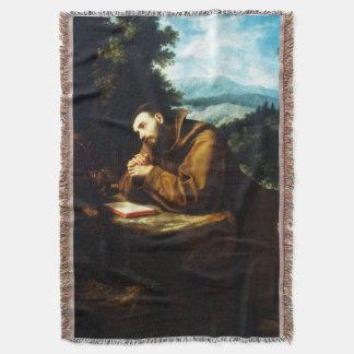 Cobertor St Francis de Assisi - San Francisco de Asis 09
