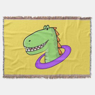 Cobertor T-Rex
