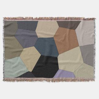 Cobertor Terra à moda na moda teste padrão legal tonificado
