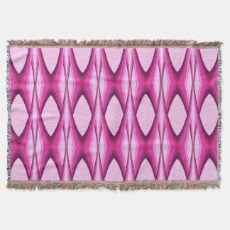 Cobertor Teste padrão cor-de-rosa