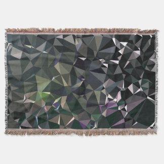 Cobertor Teste padrão geométrico abstrato moderno - doca da