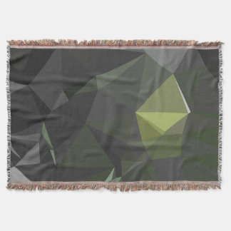 Cobertor Teste padrão geométrico abstrato moderno - olhos
