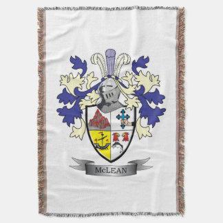 Cobertor TÍTULO da brasão da crista da família    de McLean