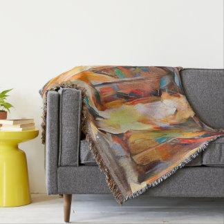 Cobertor Três Windows da emoção, expressão abstrata