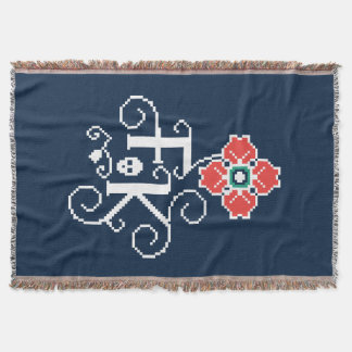 Cobertor Tributo floral de Frida Kahlo |