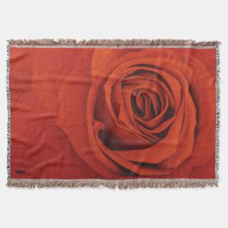 Cobertor Vendo a cobertura vermelha do lance