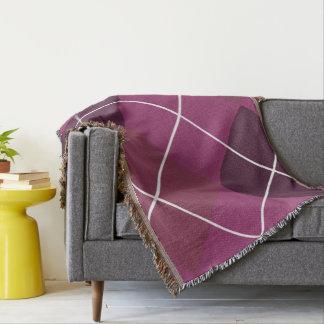 Cobertura agradável do lance da baga manta