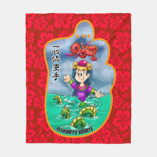 Cobertura bonito de Mitzu Gami (Isshinryu) Cobertor De Lã
