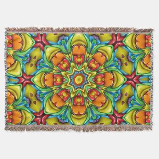Cobertura colorida do lance do Sunburst Manta