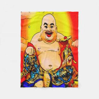 Cobertura de sorriso do velo da arte gráfica de cobertor de velo
