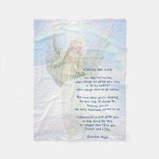 Cobertura do anjo-da-guarda cobertor de lã
