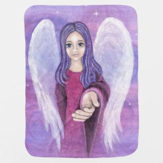 Cobertura do bebê do anjo-da-guarda mantas de bebe