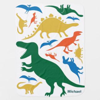 Cobertura do dinossauro cobertor de bebe
