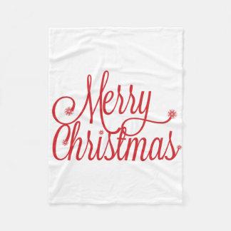 Cobertura do Feliz Natal Cobertor De Lã