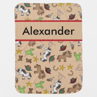 Cobertura do vaqueiro de Alexander Manta Para Bebe
