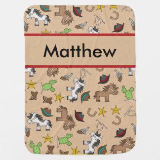 Cobertura do vaqueiro de Matthew Manta Para Bebe
