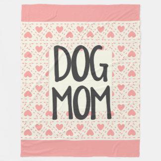 Cobertura do velo da mamã do cão grande cobertor de lã