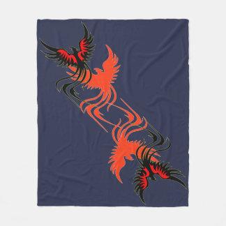 Cobertura do velo da sombra de um Phoenix Cobertor De Velo