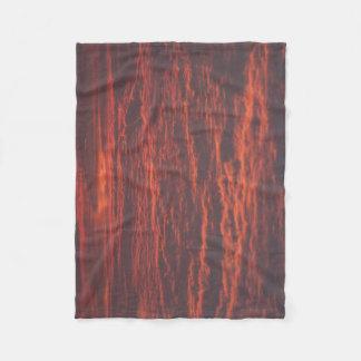 Cobertura do velo de Skly do nascer do sol pequena Cobertor De Velo