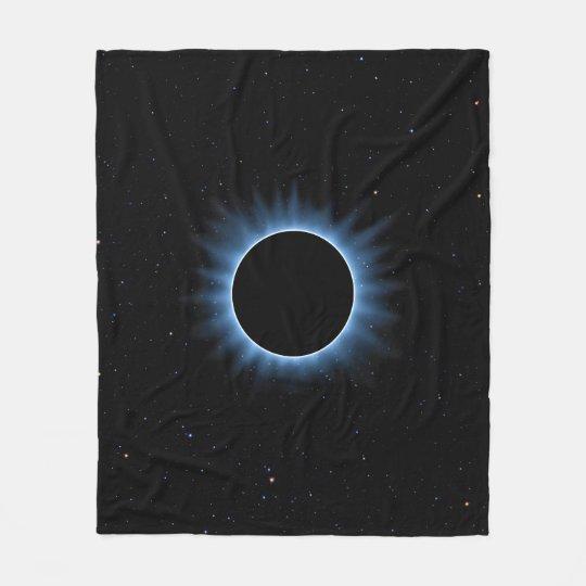 Cobertura do velo do eclipse solar cobertor de velo