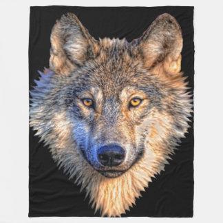 Cobertura do velo do estilo do lobo cobertor de velo
