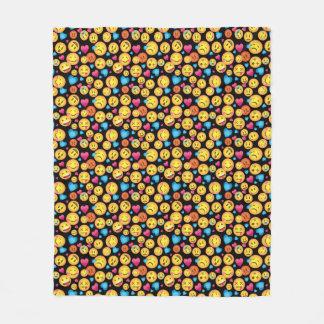Cobertura do velo do impressão de Emoji do Cobertor De Velo