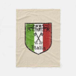 Cobertura italiana do velo da bandeira cobertor de velo