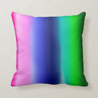 Cobertura macia das cores almofada