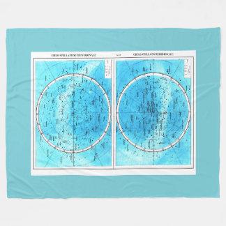 Cobertura milanesa do velo do mapa cobertor de velo