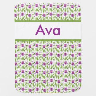 Cobertura personalizada da íris de Ava Cobertores Para Bebe