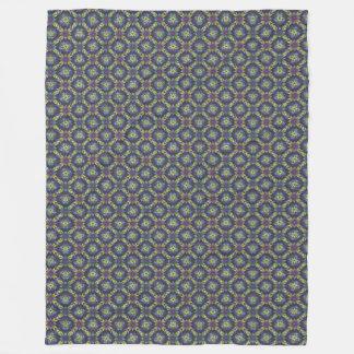Cobertura roxa do bastão cobertor de velo