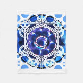 Cobertura sagrado do velo da geometria cobertor de velo