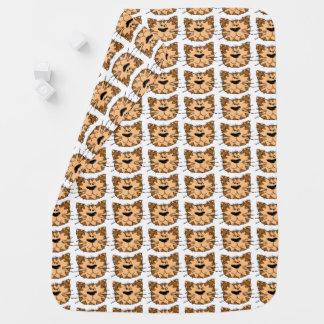 Cobertura selvagem do bebê do gato de tigre dos cobertor de bebe