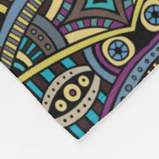 Cobertura tribal asteca do lance da decoração da cobertor de lã
