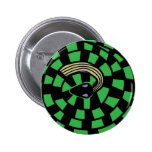 Cobra - ilusão óptica (verde) pins