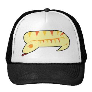 Cobra listrado boné