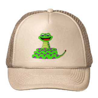 Cobra verde boné