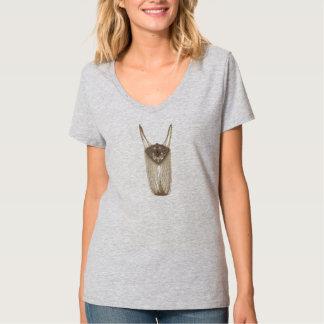 Cobre Chain do pendente Camiseta