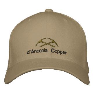 cobre do d'Anconia Boné Bordado