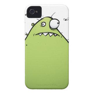 Cobrir 4 & 4s verde original do iPhone do monstro Capa Para iPhone 4 Case-Mate