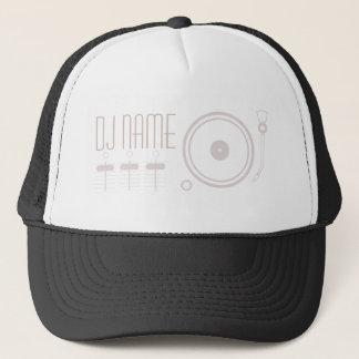Cobrir ajustado do estilo musical do DJ Boné