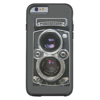 Cobrir antigo da caixa da câmera do vintage capa tough para iPhone 6
